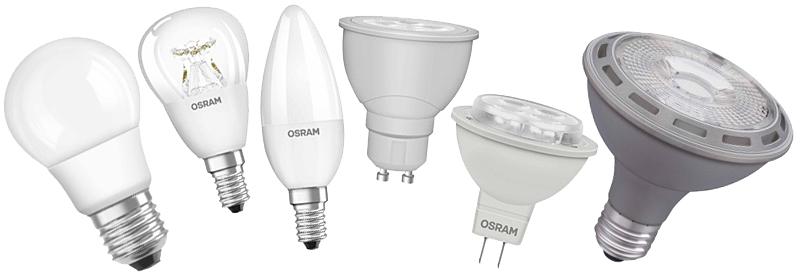 Beleuchtung - Leuchtmittel von Osram